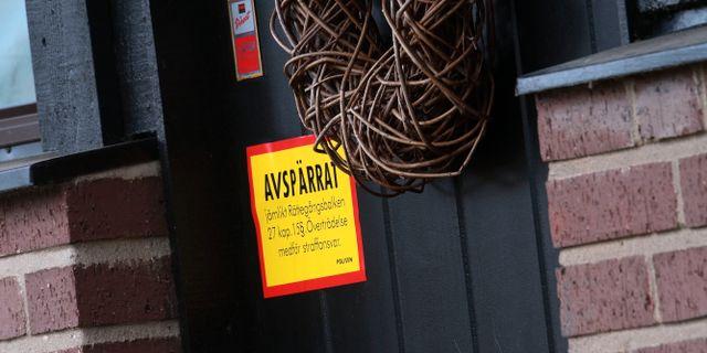 Dörren till villan. Johan Nilsson/TT / TT NYHETSBYRÅN