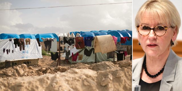 Läger i Syrien/Margot Wallström (S). TT