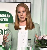 Centerpartiets partiledare Annie Lööf. Claudio Bresciani/TT / TT NYHETSBYRÅN