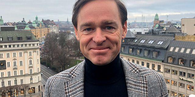 Martin Hagman, investeringsspecialist på Danske Bank.  Danske Bank