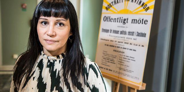 Rossana Dinamarca. Arkivbild. Lars Pehrson/SvD/TT / TT NYHETSBYRÅN