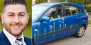 Aday Bethkinne/Den vandaliserade bilen Privat