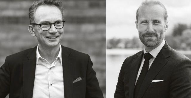 Johan Thorén och Erik Sprinchorn.