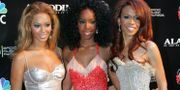 Beyonce Knowles, Kelly Rowland and Michelle Williams i Destiny's Child 2004.  Eric Jamison / TT / NTB Scanpix