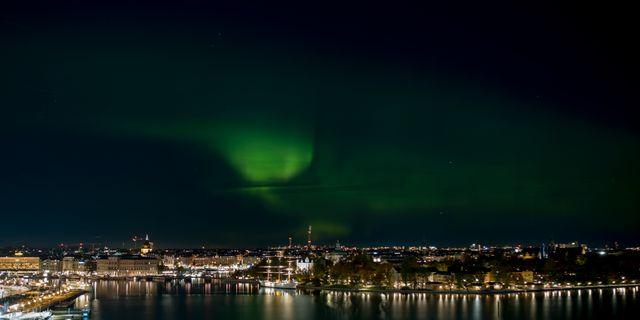 Norrsken över Stockholm 2018. Joakim Goksör/TT / TT NYHETSBYRÅN