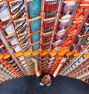 Illustrationbild. Hylla på bokmässan i Frankfurt 2012. Michael Probst / SCANPIX SWEDEN