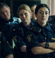 """Bild från SVT-serien """"Tunna blå linjen"""". SVT"""