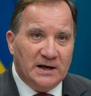 Statsminister Stefan Löven och Moderaternas partiledare Ulf Kristersson.  TT
