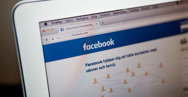 Facebook. Christine Olsson/TT / TT NYHETSBYRÅN