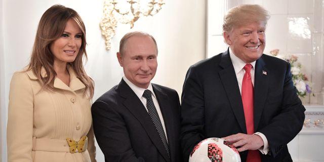 Rysk politiker rymdsten var amerikanskt vapen