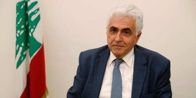 Nassif Hitti. Hussein Malla / TT NYHETSBYRÅN