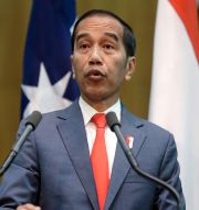 Indonesiens president Joko Widodo. TT NYHETSBYRÅN