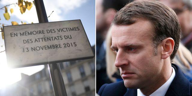 Frankrikes president Emmanuel Macron. TT