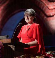 Donna Strickland fick som tredje kvinna Nobelpriset i fysik 2018. Janerik Henriksson/TT / TT NYHETSBYRÅN