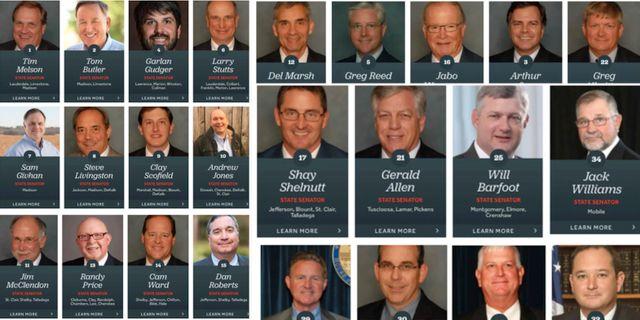 De republikaner som röstade för abortförbudet.  alsenaterepublicans.com