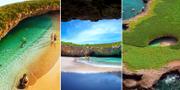 På Islas Marietas i Mexiko ligger en drömstrand som är svår att hitta och minst lika svår att lämna. Visit Puerto Vallarta