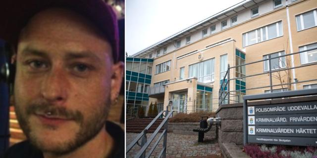 Magnus Natschki och Uddevalla tingsrätt. Privat/TT.