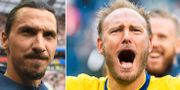Zlatan Ibrahimovic/Andreas Granqvist. TT/Bildbyrån
