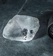 341 carats-diamanten. Press / Lucara Diamond