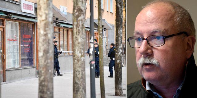 Polisen i Sätra/Gunnar Appelgren. TT