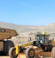 Candelaria-gruvan. Pressbild. Lundin Mining