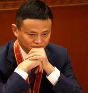 Arkivbild: Alibabas grundare Jack Ma.  Mark Schiefelbein / TT NYHETSBYRÅN