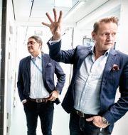 Professorerna Ali Mirazimi och Matti Sällberg, Karolinska institutet/Arkivbild Magnus Hjalmarson Neideman/SvD/TT / TT NYHETSBYRÅN