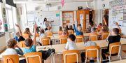 Grundskolelärare har gjort störst lönelyft, enligt LO:s rapport.  Jonas Ekströmer/TT / TT NYHETSBYRÅN
