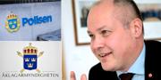 Polisen, Åklagarmyndigheten och Morgan Johansson. TT