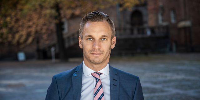 Erik Slottner (KD). Malin Hoelstad/SvD/TT / TT NYHETSBYRÅN