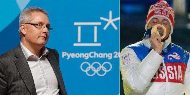 Beskedet cas friar ryska idrottare