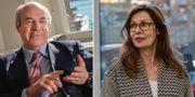 Bill Browder och Birgitte Bonnesen. TT