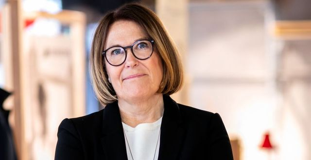 Karin Johansson, vd på Svensk Handel. Pressbild.