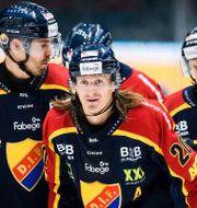Djurgårdens Marcus Sörensen efter 2-2. Erik Simander / TT / TT NYHETSBYRÅN