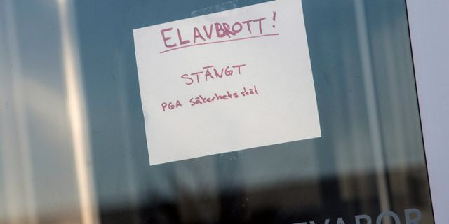 Stormen Alfrida gjorde svenskarna påminda om elavbrott. Arkivbild.  Johan Nilsson / TT / TT NYHETSBYRÅN