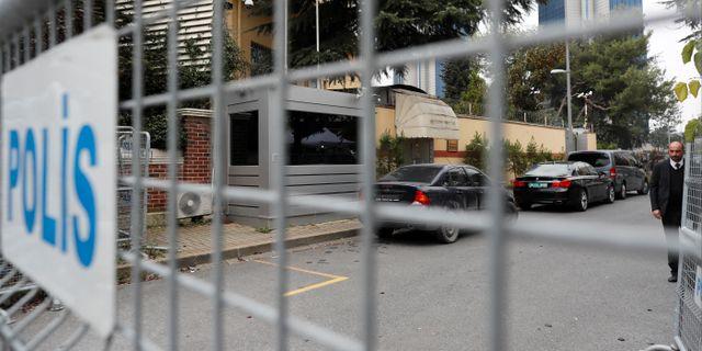 Saudiska konsulatet i Istanbul, Turkiet OSMAN ORSAL / TT NYHETSBYRÅN