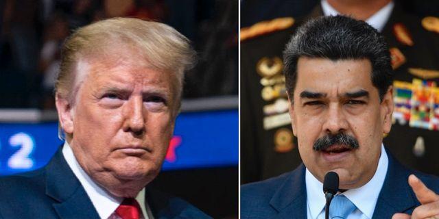 Donald Trump/Nicolás Maduro. TT