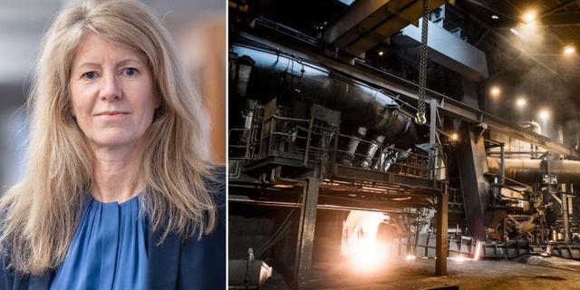 Industriarbetsgivarnas chefsekonom Kerstin Hallsten. TT, Pressbild