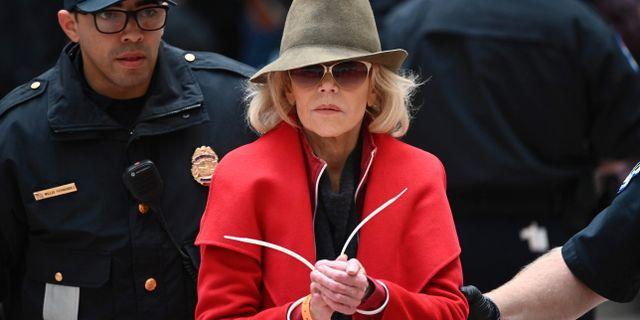 Jane Fonda. MANDEL NGAN / AFP