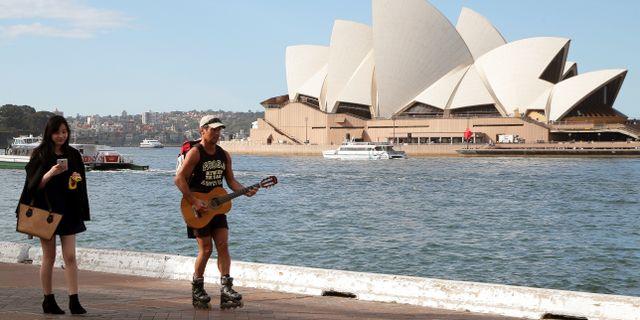 Arkivbild. Sydneys hamnområde Rob Griffith / TT NYHETSBYRÅN/ NTB Scanpix