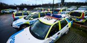 Bild från en av polisens insatser. Johan Nilsson/TT / TT NYHETSBYRÅN