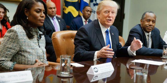Trump stamningen i vita huset ar fantastisk