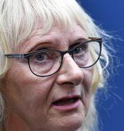 Civilminister Lena Micko (S) Henrik Montgomery/TT / TT NYHETSBYRÅN