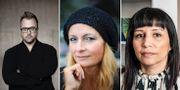 Mårten Schultz, Katerina Janouch, Rossana Dinamarca. TT