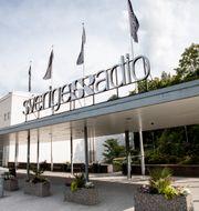 Sveriges Radios kontor i Stockholm.  Christine Olsson / TT NYHETSBYRÅN