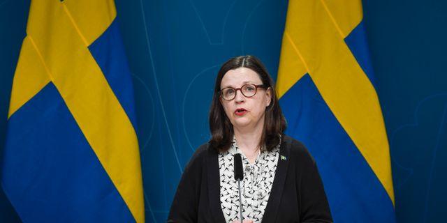 Anna Ekström Pontus Lundahl/TT / TT NYHETSBYRÅN