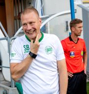 Hammarbys tränare Stefan Billborn. Stefan Jerrevång/TT / TT NYHETSBYRÅN