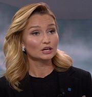 Ebba Busch. SVT
