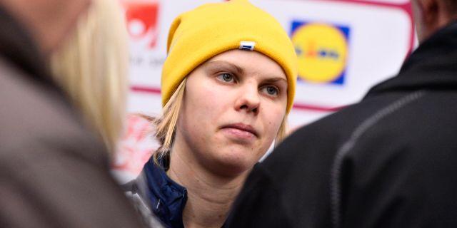 Anna Borgqvist. Arkivbild. CLAUDIO BRESCIANI / TT / TT NYHETSBYRÅN