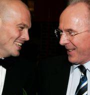 Ljungberg och Eriksson på Fotbollsgalan 2006. HENRIK MONTGOMERY / TT / TT NYHETSBYRÅN
